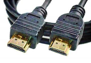Фото товара Кабель HDMI Male - HDMI Male, 1m, V2.0 кабель с позолоченным разъемом