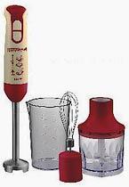 Фото товара Блендерный набор GRUNHELM EBS-800SR, красный, 800W