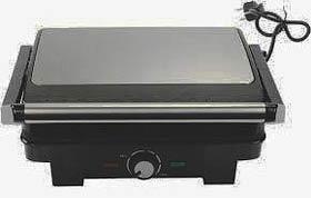 Фото товара Гриль-барбекю электрический Grunhelm G1800 мощность 1800Вт (покрытие жарочной поверхности антипригарное, рифленая поверхность пластин, панели прибора при работе нагреваются до 210 градусов)