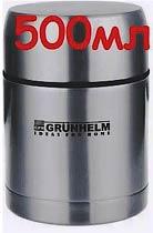 Фото товару Термос харчовий c нержавійки Grunhelm GVF005 500мл