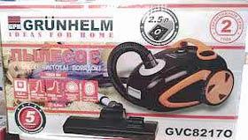 Фото товару Порохотяг GRUNHELM GVC82170, чорний з помаранчевим , 1800W