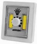 Фото товару Підсвітка універсальна, в виді вимикача, магніт, липучка, 3xAAA