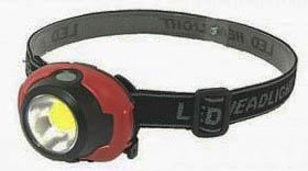 Фото товара Фонарик налобный 1802-COB+LED 12V