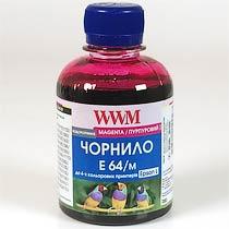 Фото товару Чорнило WWM для Epson E64/M Magenta 200г