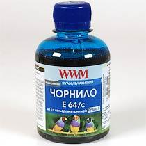 Фото товару Чорнило WWM для Epson E64/C Cyan 200г