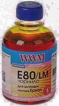 Фото товару Чорнило WWM для Epson L800 200г Light Magenta Водорозчинне (E80/LM)