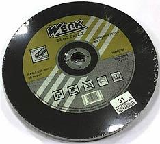 Фото товару Відрізний круг по металу та нержавіючій сталі 230х2,0х22,2 WERK (WE201110/4131717)