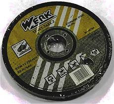Фото товару Відрізний круг по металу та нержавіючій сталі 125х1,2х22,2 WERK (WE201105/4131708