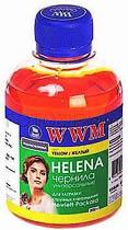 Фото товару Чорнило WWM HELENA (HU/Y) Yellow 200г, для принтерів HP