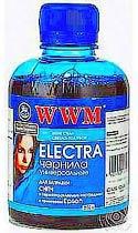 Фото товару Чорнило WWM ELECTRA для Epson 200г Light Cyan Водорозчинне (EU/LC) універсальне