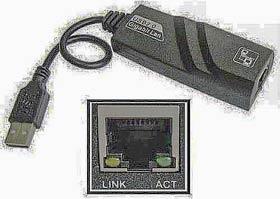Фото товару Мережева карта USB 3.0 Male to RJ-45 Female LAN 1 Gb/s, RTL