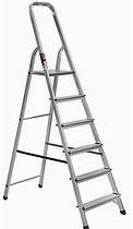 Фото товара Лестница раскладная алюминиевая STARK 506 6 ступенек, максимальная нагрузка 150кг