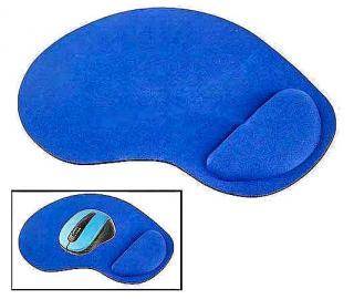 Фото товару Килимок для мишки з гелевою подушкою, синій