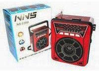 Фото товару Радіоприймач портативний NNS NS-904U з ліхтариком