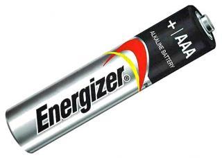Фото товару Батарейка AAA LR03 Energizer 1.5V (бл.6/1)