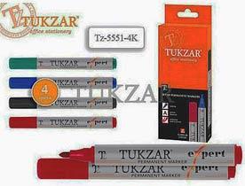 Фото товара Набор маркеров перманентных Tukzar Tz-5551-4К, 2.5 мм, 4 цвета