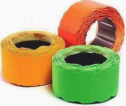 Фото товара Ценник бумажный, 26 х 12 mm, 500 шт, Economix E21304-06, оранжевый