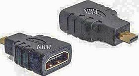 Фото - Переходник HDMI Female на micro HDMI Male