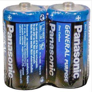 Фото товара Батарейка R14 Panasonic 1.5V (уп.10/2/1)