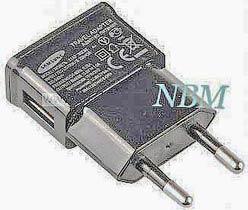 Фото товару Зарядний пристрій 220v на USB, 5V 2A, чорний