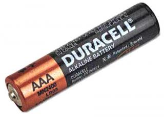Фото товару Батарейка AAA LR03 Duracell, 1.5V, (уп.80/8/1)