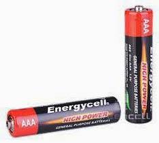 Фото товару Батарейка AAA ENERGYCELL R03 1.5V, (уп.40/1)