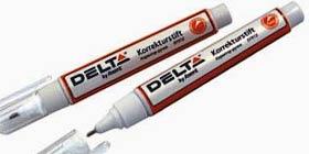 Фото товара Корректор-ручка Delta dy Axent , 8 ml