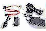 """Фото товару Адаптер USB2.0 Male на IDE, SATA (2.5"""", 3.5"""") з блоком живлення, RTL"""