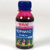 Фото товару Чорнило WWM для Epson E64/M Magenta 100г