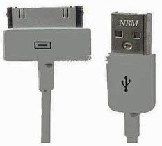 Фото товару Кабель USB 2.0 на Samsung Galaxy Tab, білий