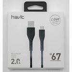 Фото товару Кабель USB Male на micro USB, Havit HV-H611, 1.8 м