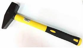 Фото товара Молоток слесарный 800 г, ручка из стекловолокна Сталь