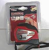 Фото товара Рулетка 3мx19мм , нейлон, пластиковый корпус, 2 стопа, HAISSER Сompact