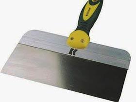 Фото товару Шпатель з нержавіючої сталі двокомпонентна ручка 150 мм Сталь