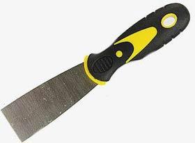 Фото товару Шпательна лопатка з нержавіючої сталі двокомп. ручка 40 мм Сталь