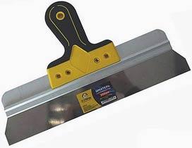 Фото товару Шпатель з нержавіючої сталі двокомпонентна ручка 250 мм Сталь
