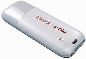 Фото товару Флеш пам`ять USB 2.0 16GB Team Group C173 біла