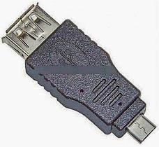 Фото товару Адаптер micro USB 2.0 Male на USB Female