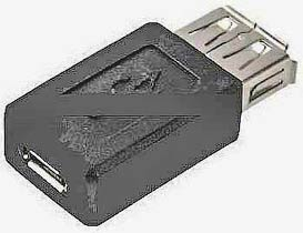 Фото товара Адаптер micro USB 2.0 Female на USB Female