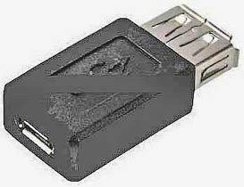 Фото товару Адаптер micro USB 2.0 Female на USB Female