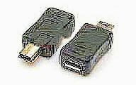 Фото товару Адаптер mini USB2.0 Male на micro USB Female