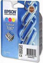 Фото товара Комплект цветных картриджей Epson Stylus (C13T067040) Color для: C48