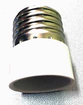 Фото товару Перехідник для LED лампочок E27 to E14
