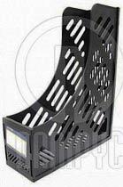 Фото товара Лоток вертикальный Economix E31906-01, сборный на 1 отделение пластиковый черный