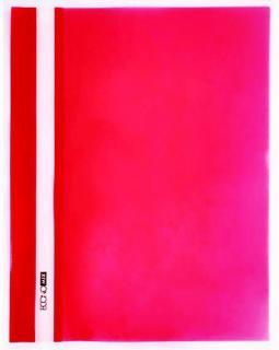 Фото товара Папка-скоросшиватель пластиковая, А5, Economix E31507-03, без перфорации, фактура глянец