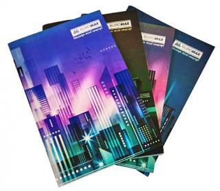 Фото товару Блокнот А4, 96 аркушів в клітинку, з твердою обкладинкою і кольоровим зображенням природи