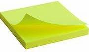 Фото товара Блок бумаги для записей, клееный, 75*75 mm, 100 листов, цветной
