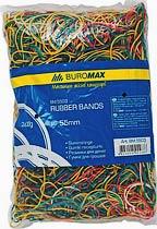 Фото товара Резинки для денег разноцветные вес упаковки 200г