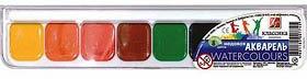 Фото товара Акварель `Классика`, 8 цветов, медовая, пластиковая упаковка