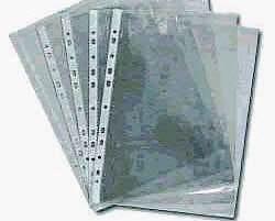 Фото товара Файлы глянцевые формат А4, плотность 25мкм 100 штук